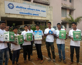 Smart stove distribution of residential students _ITI Jawhar