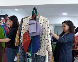 Dhaaga Exhibition, Carnac - 2019