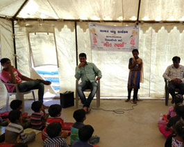 Sagarbandhu Program- Camp school for the children of fishermen community