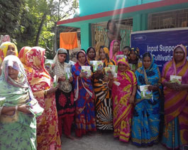 Livelihood and emp. Seed distribution-haldia