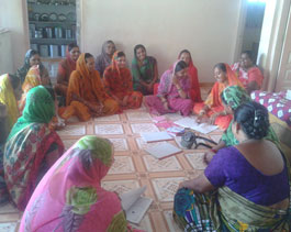 Livelihood and Emp SHG Meeting