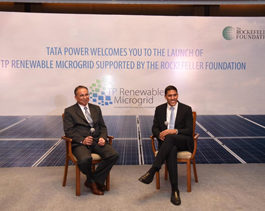 Launch of TP Renewable Microgrid