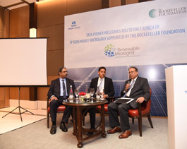 Launch of TP Renewable Micro-grid