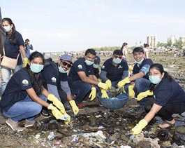 Chimbai Beach Cleanliness Drive