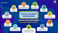 Clear your bills on time through digital payments