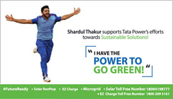 Shardul Thakur is Brand Ambassador for Tata Power