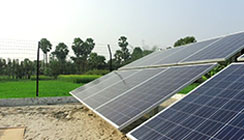 Solar microgrid - A game-changer for India's rural